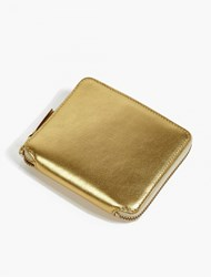 Comme Des Garcons Gold Classic Leather Wallet