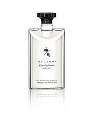 Bulgari Eau Parfumee Au The Noir Shampoo And Shower Gel 6.8 Oz. No Color