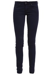 Cimarron Lana Slim Fit Jeans Navy Dark Blue