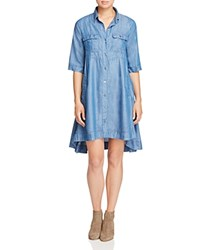 4Our Dreamers Chambray Shirt Dress Dark Indigo