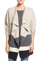 Madewell Women's Colorblock Boiled Wool Cardigan