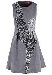 Derhy Campanile Cocktail Dress Party Dress Argent Silver
