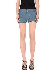 Cycle Denim Denim Shorts Women Slate Blue