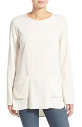 Women's James Perse Double Pocket Tunic Top