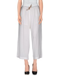 Fabiana Filippi Trousers Casual Trousers Women White