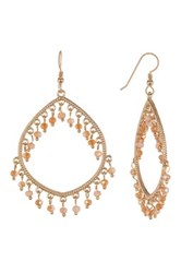 Lucky Star Jewels Eden Dangle Earrings Metallic