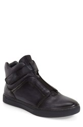 Men's Jump 'Scully' High Top Sneaker Grey Leather