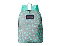 Jansport Superbreak Grey Rabbit Sylvia Dot Backpack Bags Blue
