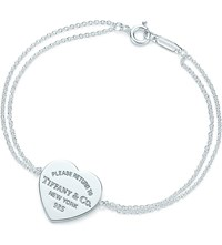 Tiffany And Co. Return To Tiffanytm Heart Tag Bracelet In Sterling Silver