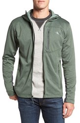 The North Face Men's 'Canyonlands' Full Zip Hoodie Duck Green Heather