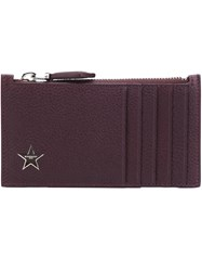 Givenchy Zipped Card Holder Red