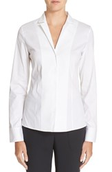 Women's Akris Cotton Poplin Blouse