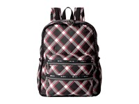 Le Sport Sac Functional Backpack Party Plaid Backpack Bags Mahogany