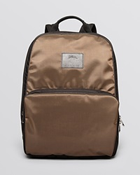 Longchamp Baxinyl Backpack Taupe Black