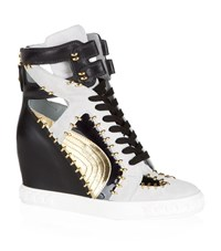 Casadei Snapdragon Leather Sneaker Female