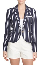 Women's 1.State Shrunken Stripe Blazer