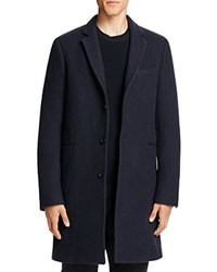 Paul Smith Tailored Overcoat Navy