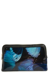Ted Baker London 'Large Butterfly Cenlore' Cosmetics Case
