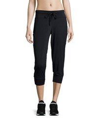 The Balance Collection Banded Ponte Capri Pants Black 001