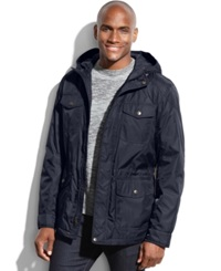 Dockers Hooded Four Pocket Anorak Navy