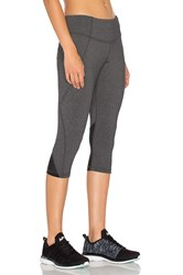 Rese Anne Cropped Leggings Charcoal