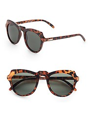 Minkpink 48Mm Tortoise Cat's Eye Sunglasses