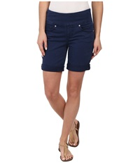 Jag Jeans Jordan Pull On Relaxed Fit Short In Heritage Twill Navy Blue Women's Shorts