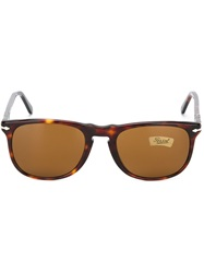 Persol Vintage Tortoise Shell Sunglasses Brown