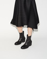 Ann Demeulemeester Low Heel Ankle Boot Black