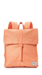 Herschel City Backpack Nectarine Crosshatch