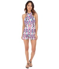 6 Shore Road Chiva Romper Cover Up Atlantic Floral Women's Jumpsuit And Rompers One Piece Multi