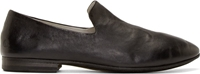 Marsell Black Creased Leather Loafers