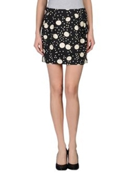 L'autre Chose L' Autre Chose Mini Skirts Black