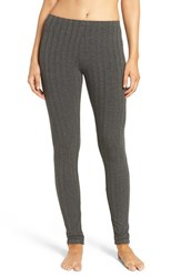 Daniel Buchler Women's Rib Knit Leggings