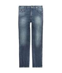 Paul And Shark Red Rivet Mid Wash Jeans Blue
