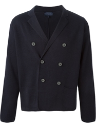 Lanvin Double Breast Fastening Cardi Blazer Blue