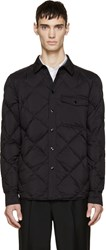 Rag And Bone Black Quilted Down Mallory Jacket