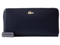 Lacoste Chantaco Large Zip Wallet Peacoat Wallet Handbags Blue