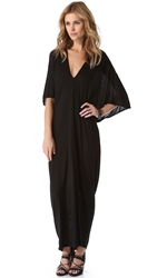 Riller And Fount Robyn Caftan Maxi Dress Black