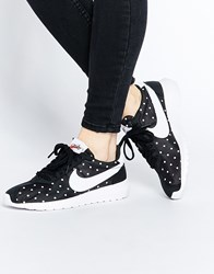 Nike Black And White Polka Dot Roshe Ld1000 Trainers Blackwhite