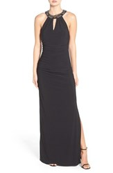 Laundry By Shelli Segal Women's Embellished Jersey Gown