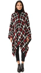 Boutique Moschino Tweed Cape Multi