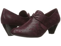Soft Style Gretel Sassafras Paisley Faux Suede Women's 1 2 Inch Heel Shoes Brown