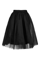 Layered Tutu Midi Skirt By Rare Black