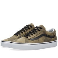 Vans Old Skool Camo Jacquard Green