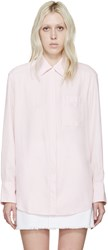 Acne Studios Pink Addle Work Shirt