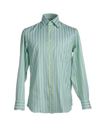 Marrin For Portacci Long Sleeve Shirts Light Green