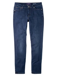 Violeta By Mango Super Slim Fit Alexandra Jeans Open Blue