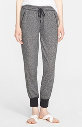 Soft Joie 'Saxby B' French Terry Jogger Pants Charcoal Caviar