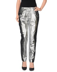 Theyskens' Theory Casual Pants Silver